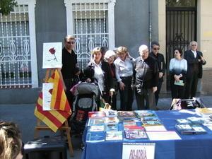 Barcelona: Români la sărbătoarea de Sant Jordi