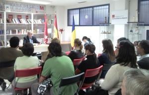 Lecţie de istorie pentru românii din Madrid