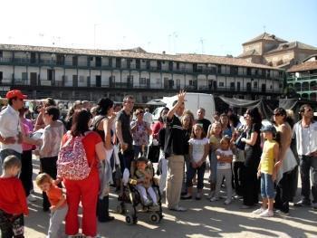 CEPI Alcalá de Henares: Rumanos en visita a Chinchón