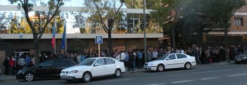 Alegeri prezidențiale 2014: Adresele celor 38 de secții de votare in Spania