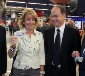 """Madrid: Se testează un card de transport """"fără contact"""""""