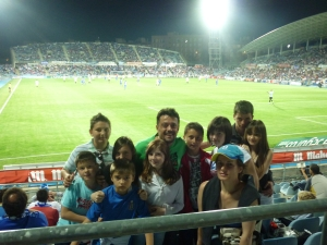 10 copii invitaţi la meciul Getafe – Sevilla