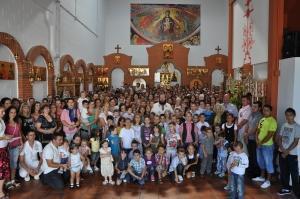 Început de nou an şcolar, cu rugăciune, la Coslada