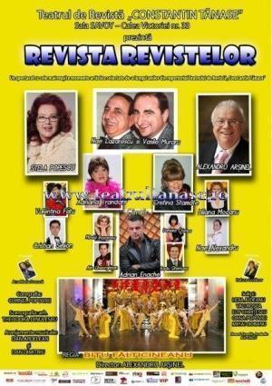 """Arşinel şi Stela Popescu fac """"Revista Revistelor"""" în Spania"""