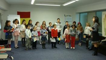 Castellon: La mulţi ani, Române!