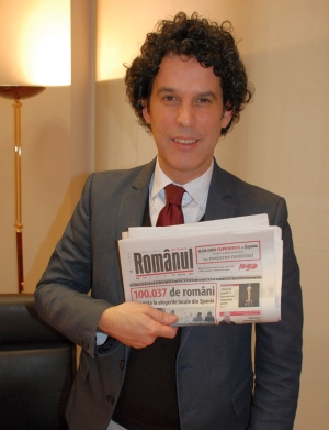 """Pedro Zerolo (PSOE): """"Romanii sunt interesati sa participe si sa se integreze"""""""