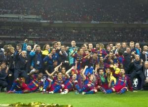FC Barcelona cucereste Europa a patra oara