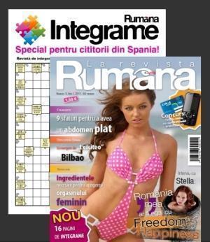 Revista RUMANA adauga 16 pagini de integrame pentru cititorii din Spania