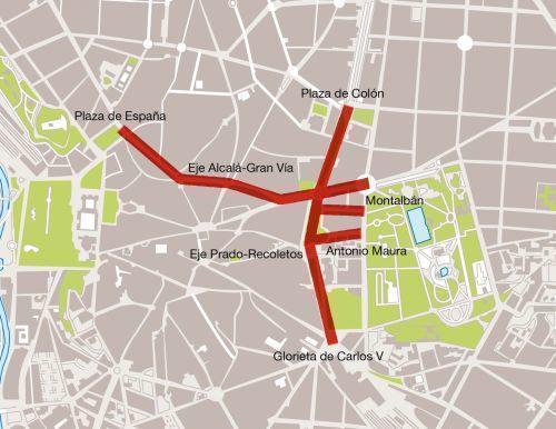 Cortes de calles en Madrid durante la visita papal a la JMJ