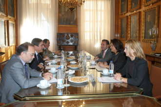 Ponta se intalneste cu Zapatero