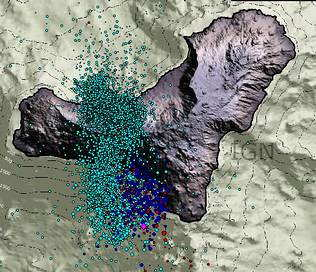 Alerta maxima de risc vulcanic: Localitate evacuata in insula Hierro