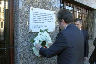 Madrid: Omagii in memoria victimelor atentatelor de la 11 martie