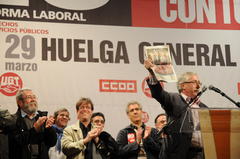 Sindicatele spaniole raspund cu o greva generala la reforma muncii