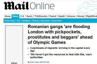 Presa britanica: Bande de romani inunda Londra cu hoti, prostituate si cersetori inaintea Jocurilor Olimpice