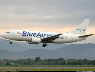 Mai multe kilograme la bagajele de mana cu Blue Air