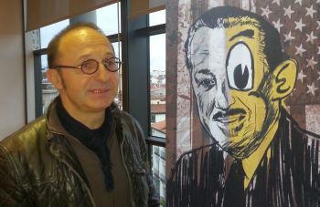 """Viata lui Walt Disney """"inscenata"""" de un artist roman la Madrid"""