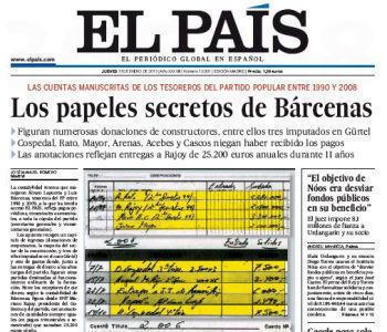 Premierul Spaniei acuzat ca ar fi primit bani la negru #lospapelesdebarcenas