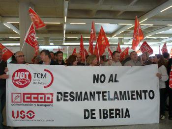 Iberia deschide sezonul grevelor cu 1200 de zboruri anulate