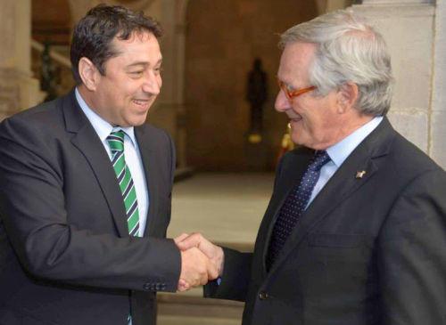 Ministrul Cristian David a discutat cu autoritatile din Catalonia