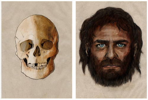 Europenii erau negri si cu ochi albastri