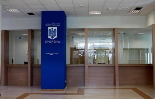 Consulatul de la Madrid va arăta, în sfârşit, ca o instituţie