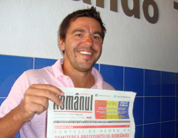 Primul antrenor român în Primera Division
