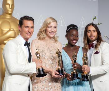 Cei mai buni actori la Oscar: Matthew McConaughey, Cate Blanchett, Lupita Nyong'o, Jared Leto