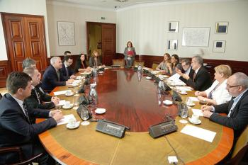 Vizita delegaţiei Comisiei pentru învăţământ, ştiinţă, tineret şi sport a Camerei Deputaţilor