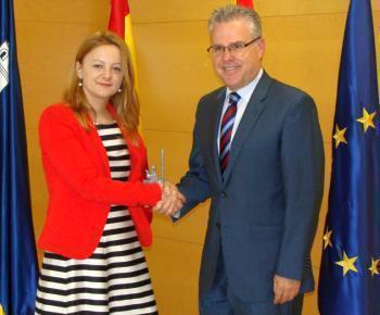 Consulatul României la Barcelona – Întâlnire cu primarul orașului Tarragona