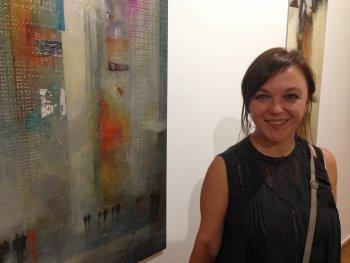 Succes românesc la Madrid – Artista Anka Moldovan expune în centrul orasului
