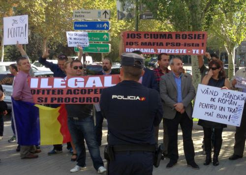 Intalnire fara intrebari pentru Victor Ponta, la Madrid