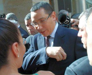 Victor Ponta – revine in vizita la romanii din Madrid
