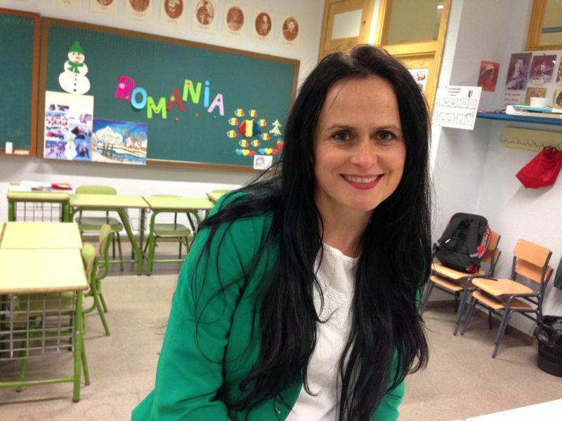 profesoara Gabriela Soporan