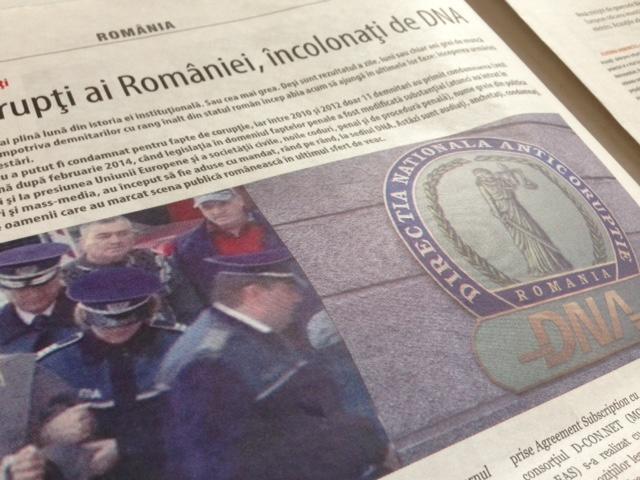 Cei mai înalţi corupţi ai României, încolonaţi de DNA