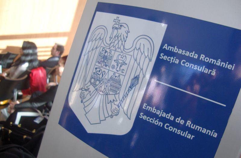Se suspendă activitatea cu publicul la consulatele din Spania