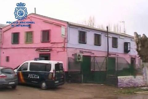 Românce prostituate cu forța în mijlocul câmpului la Albacete