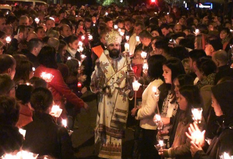 Lumina Învierii a ajuns și la românii din Spania