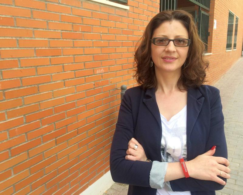 Mariana Venec candidat PSOE 2015 arganda del rey