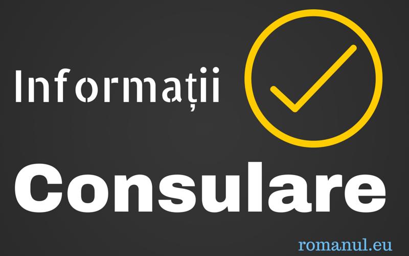 informatii consulare
