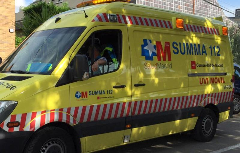 ambulanta summa 112 madrid spania