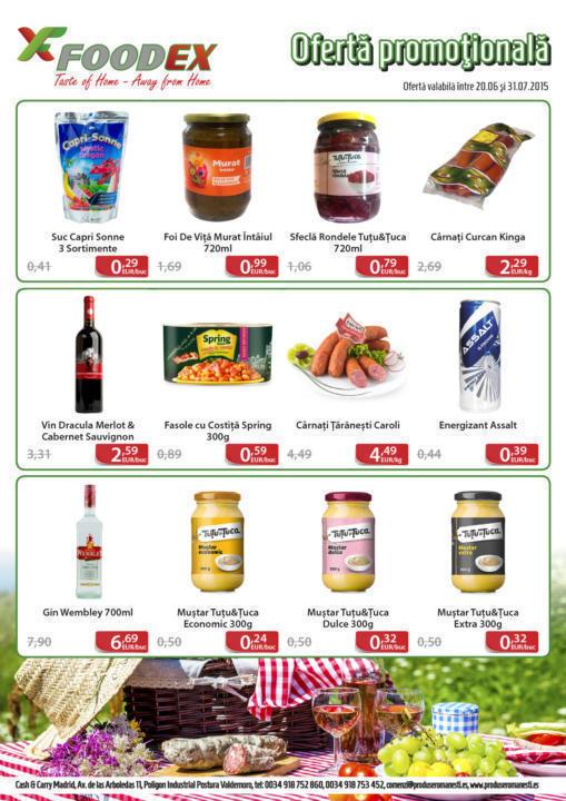 """A venit """"Vara haiducilor"""" – 100 de produse la ofertă în magazinele Haiduc"""