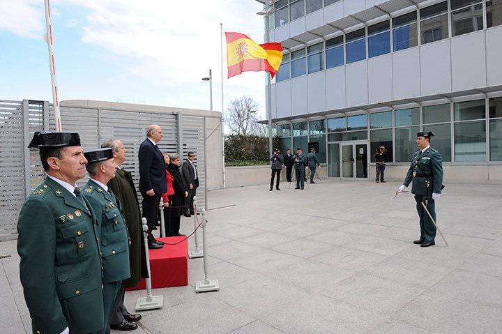 Decorație pentru polițiștii români din partea Spaniei