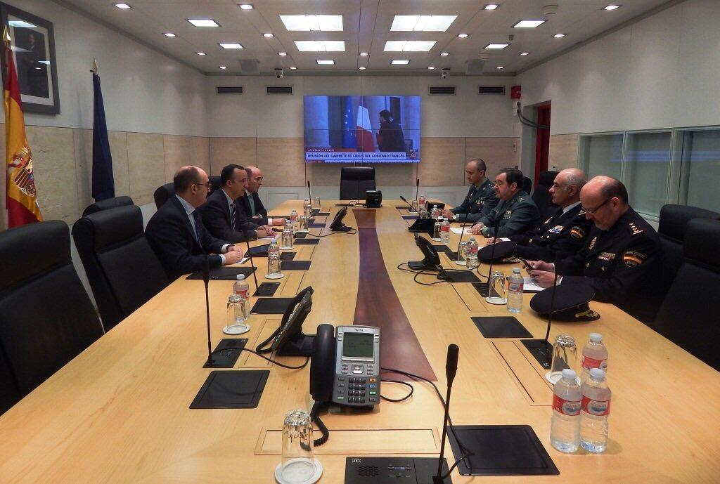 Spania menține nivelul actual de alertă antiteroristă