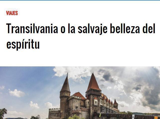 El Mundo: Transilvania sau frumusețea sălbatică a spiritului