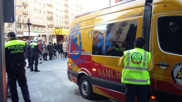 ambulanta samur madrid
