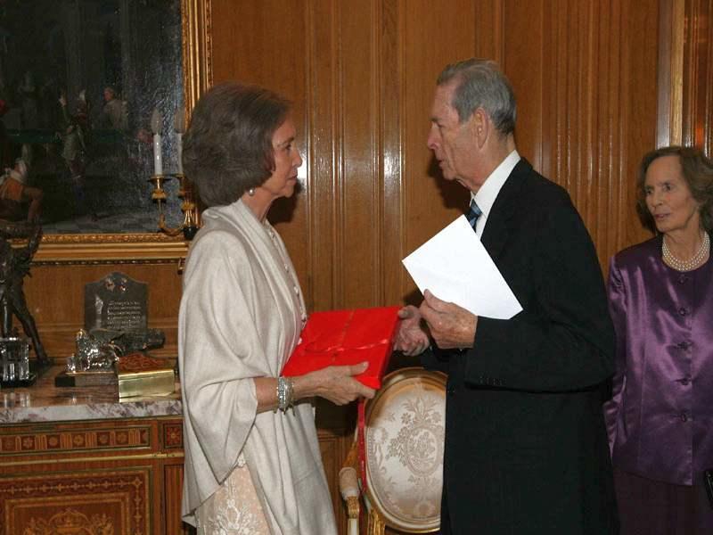 Regina Sofia a Spaniei solidară cu familia regală a României