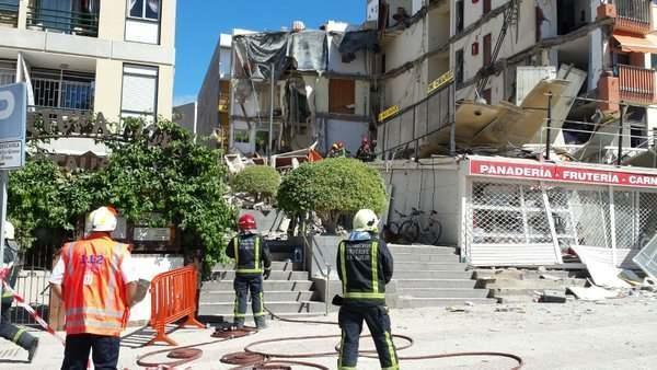 Bloc prăbușit în Tenerife, unde trăiesc peste 4000 de români
