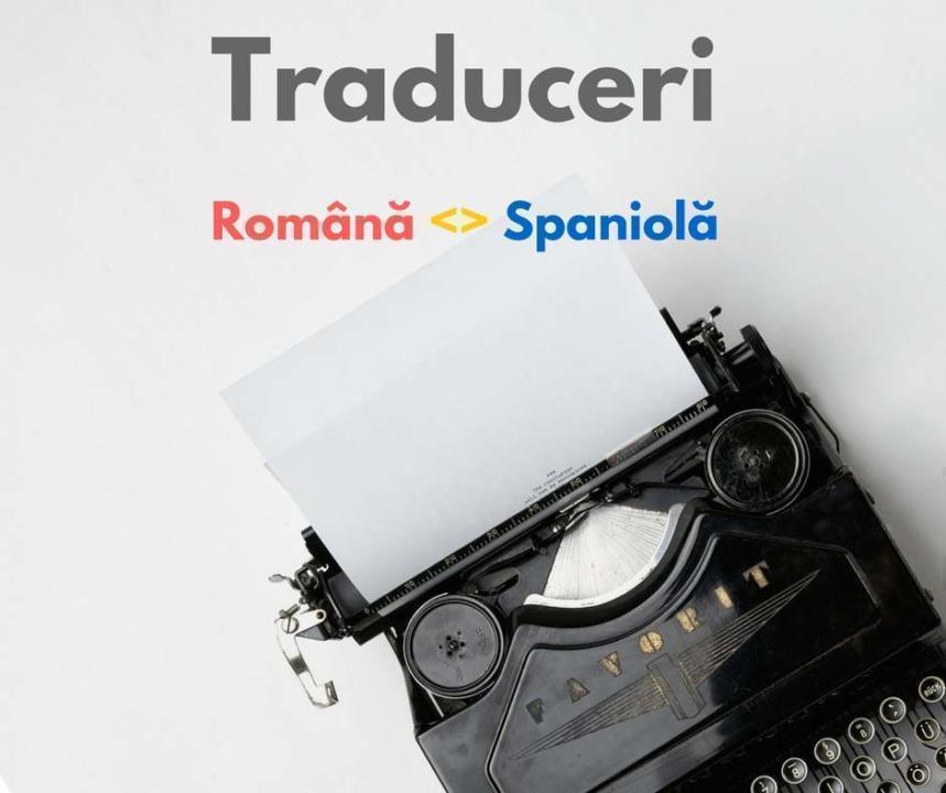 Traduceri romana spaniola articol
