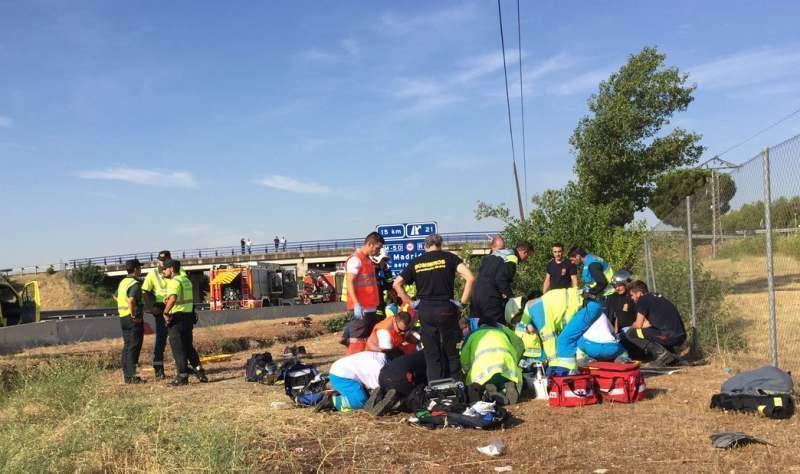 Un copil de 8 ani și bunica sa – decedați într-un accident la Madrid