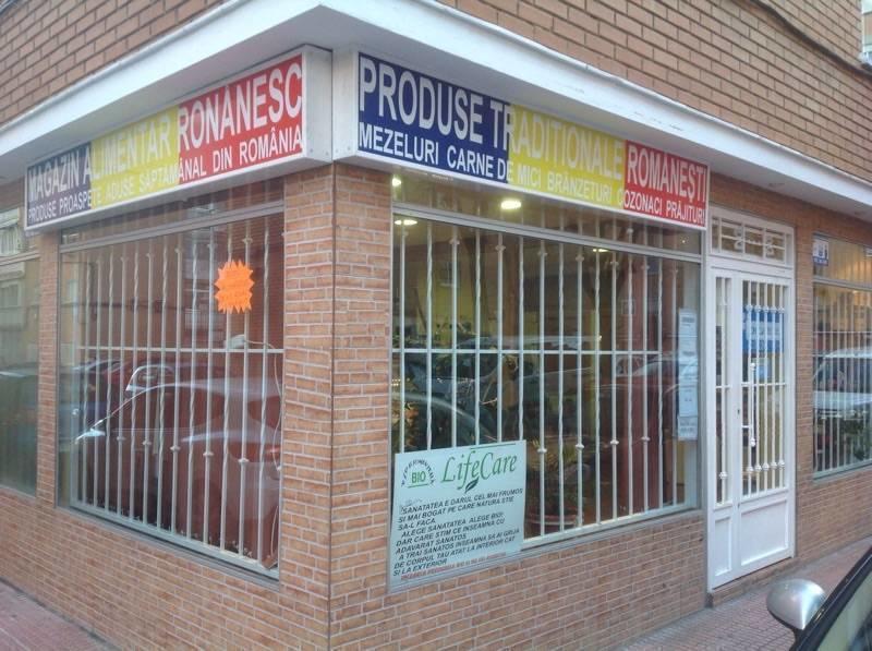 Produse românești de casă aduse săptămânal la Madrid